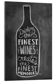 Acrylic print  Finest Wines - Lily & Val