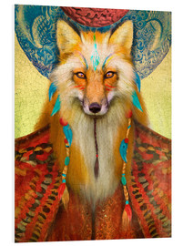Foam board print  Wise Fox - Aimee Stewart