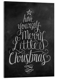 Acrylic print  Merry Little Christmas - Lily & Val
