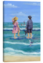 Canvas print  Those Were The Days - Peter Adderley