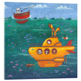 Acrylic print  Yellow Submarine - Peter Adderley
