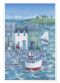 Premium poster  Harbour gifts - Peter Adderley