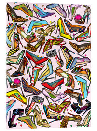 Acrylic print  Shoe Crazy - Lewis T. Johnson