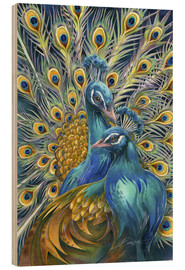 Wood print  You Are Unforgettable - Jody Bergsma