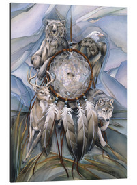 Aluminium print  Dream catcher - Jody Bergsma