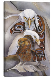 Canvas print  Eagle spirit - Jody Bergsma