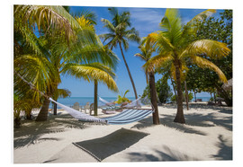 Foam board print  Florida Keys Heavenly Place - Melanie Viola