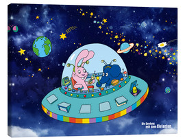 Canvas print  Moving in Space