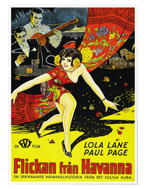 Premium poster  THE GIRL FROM HAVANA, (FLICKAN FRAN HAVANNA), Lola Lane