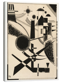 Canvas print  Lithograph No III - Wassily Kandinsky