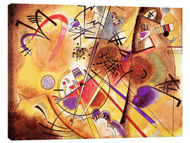 Canvas print  Small dream in red - Wassily Kandinsky