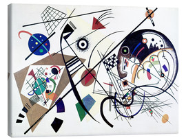 Canvas print  Continuous line - Wassily Kandinsky