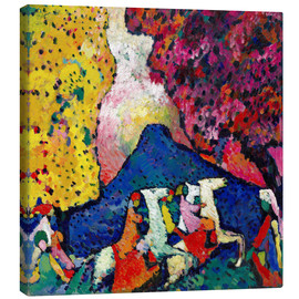 Canvas print  Blue Mountain - Wassily Kandinsky