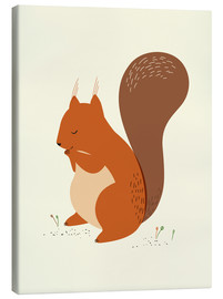 Canvas print  Squirrel - Sandy Lohß