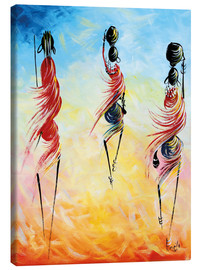Canvas print  African everyday - Nangida