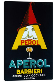 Canvas print  Aperol Barbieri - Advertising Collection