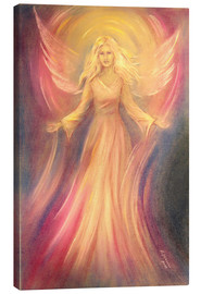 Canvas print  Angel of light and love - Marita Zacharias