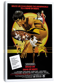 Canvas print  Game of Death - Entertainment Collection