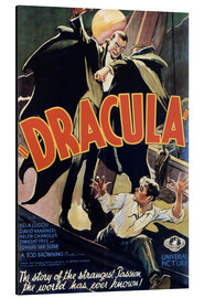 Aluminium print  Dracula - Entertainment Collection