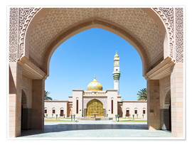 Premium poster  Mosque in Muscat, Oman - Matteo Colombo