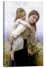 Canvas print  Not hard to bear - William Adolphe Bouguereau