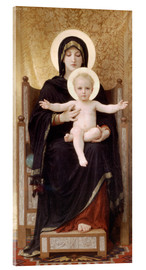 Acrylic print  Madonna and Child - William Adolphe Bouguereau