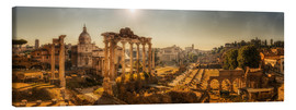 Canvas print  Rome roman forum - Stefan Schäfer