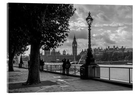Acrylic print  London black and white - Filtergrafia