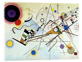 Acrylic print  Composition no. 8 - Wassily Kandinsky