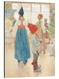 Aluminium print  Before Christmas - Carl Larsson