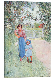 Canvas print  Say hello to the nice uncle - Carl Larsson