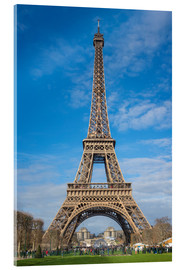 Acrylic print  The Eiffel Tower, Paris - FineArt Panorama