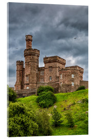 Acrylic print  Inverness Castle - Walter Quirtmair
