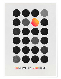 Premium poster  Be You - Elisabeth Fredriksson