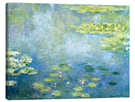 Canvas print  Lily pond - Claude Monet