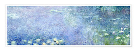 Premium poster  Waterlilies image 2 - Claude Monet