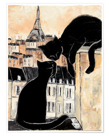 Premium poster Cats whispers
