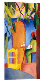 Acrylic print  Turkish Café II - August Macke
