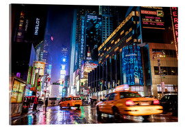 Acrylic print  Walking down Broadway - New York City - Sascha Kilmer