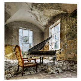 Acrylic print  The old piano - Mario Benz