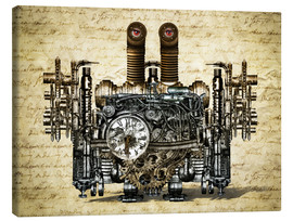 Canvas print  Nostalgic Time Machine - diuno