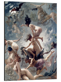 Aluminium print  Witches going to their Sabbath - Luis Ricardo Falero