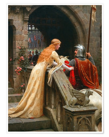 Premium poster  God Speed - Edmund Blair Leighton
