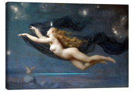 Canvas print  The Night - Auguste Raynaud