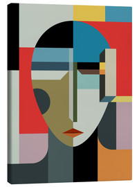 Canvas print  Portrait of a woman - THE USUAL DESIGNERS