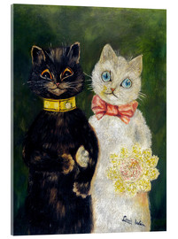Acrylic print  Cats Wedding - Louis Wain