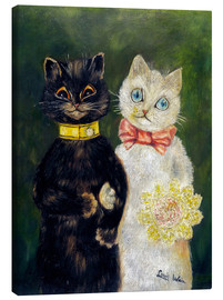Canvas print  Cats Wedding - Louis Wain