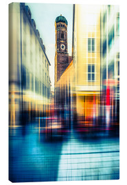 Canvas print  Frauenkirche in Munich - Hannes Cmarits