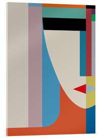 Acrylic print  Absolute face - THE USUAL DESIGNERS