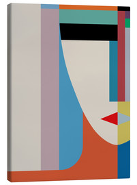 Canvas print  Absolute face - THE USUAL DESIGNERS